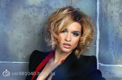 цвет волос ксении бородиной фото: