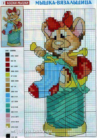 мышка вязальщика40 (495x700, 322Kb) .