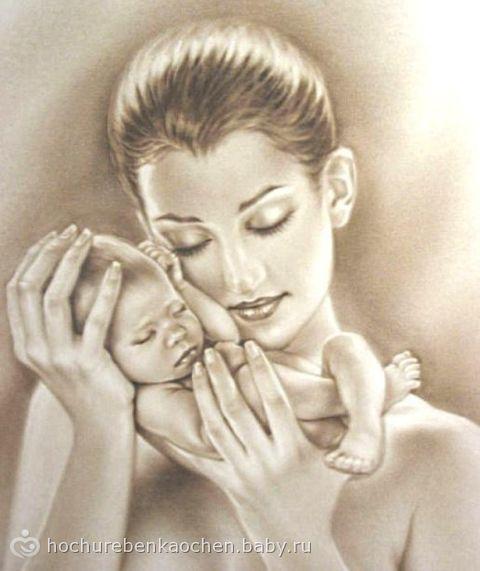 рисунок матери: