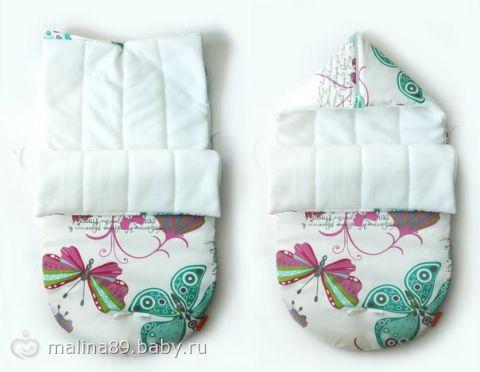 Летний конверт для новорожденного сшить