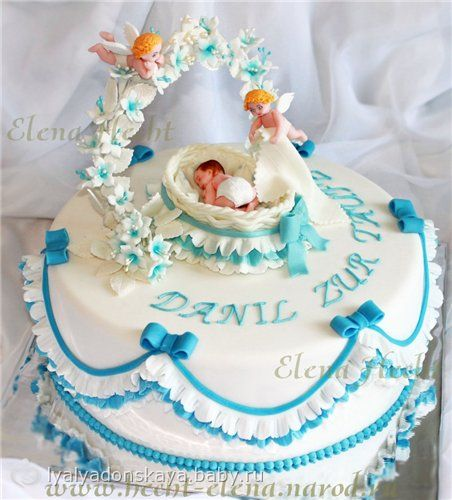 Торт на крестины…