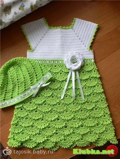 Вязаные крючком летние юбки