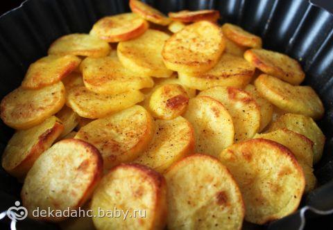 Гарнир картофель в духовке рецепт