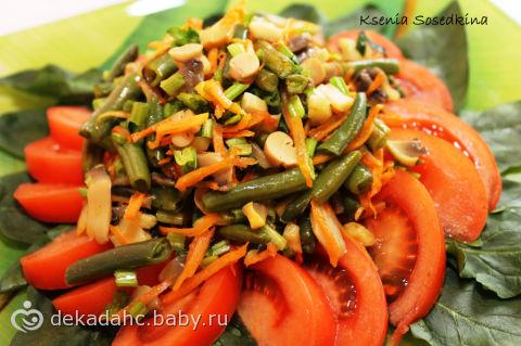 салаты со шпината фото