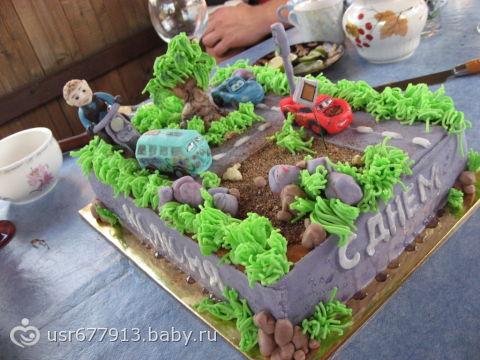 Тортики на 1 годик торт чемодан мастер
