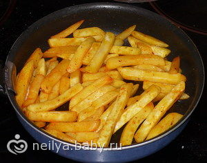 как жарить картошку с хрустящей корочкой