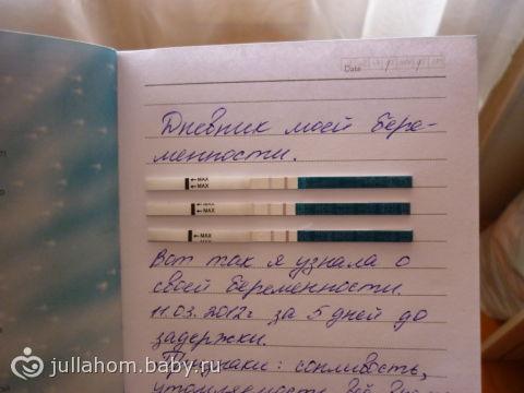 Фото дневников беременных