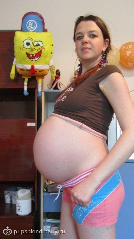 Огромные животы беременных женщин 57