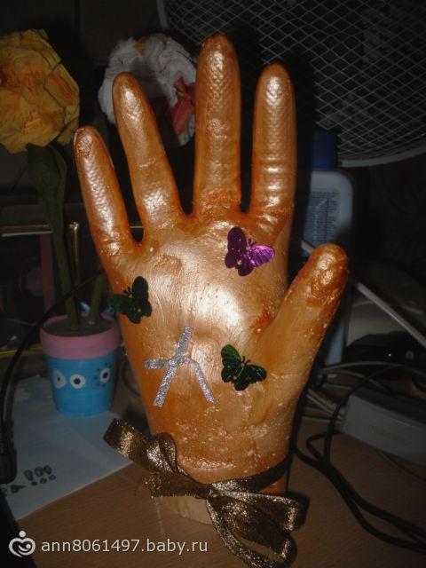 Как сделать руки из алебастры