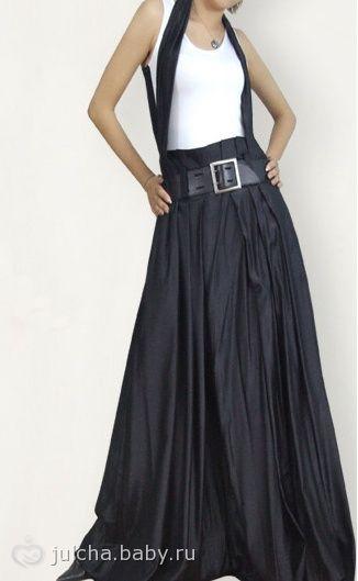 с чем носить черную юбку летом: