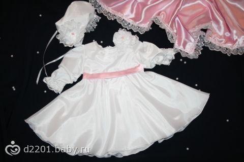 Как сшить платье своими руками для новорожденной