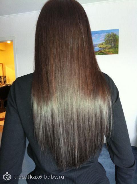 Темный цвет волос без рыжины