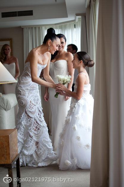 Свадебные платья и аксессуары крючком