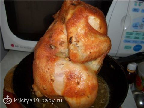 Курица в полете рецепт с фото