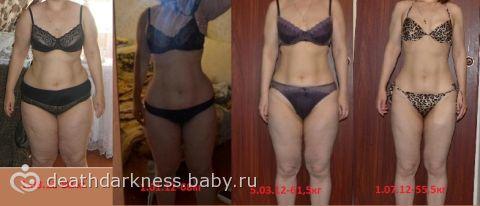 похудение после родов отзывы с фото