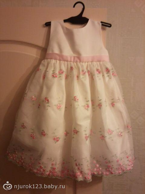 340b5fde9f1 Пермь. Продам 2 платья на девочку 2-3 года. Повтор.