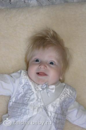 Если папа брюнет и мама шатенка, малыш таки потемнеет?)))фото