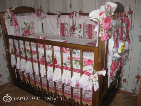 Белье для новорожденного: как украсить детскую 40