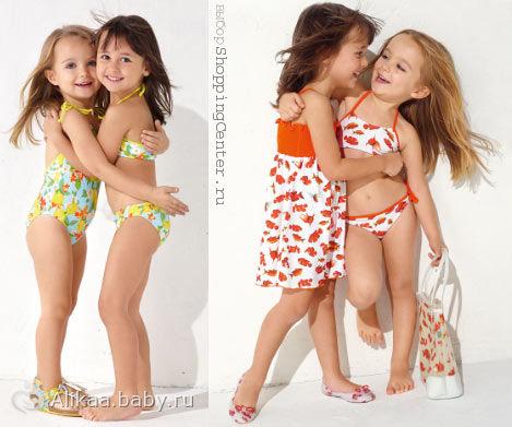 модели дети в трусиках фото