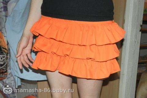 Сшила юбку. Что не так? Фото.