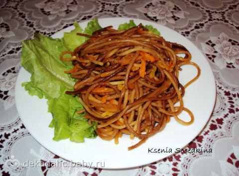 Жареные макароны рецепт с фото пошагово