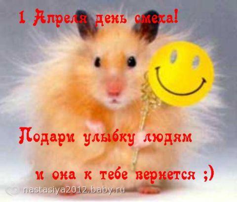 С ДНЕМ СМЕХА!!!
