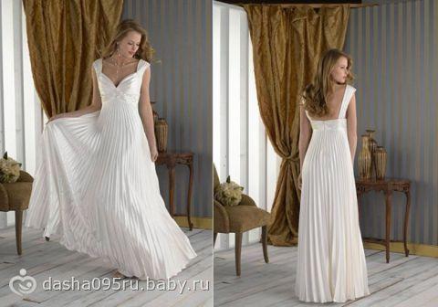 Свадебные платья для беременных омск